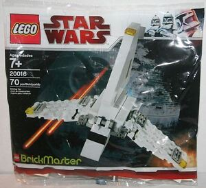 LEGO-20016-Star-Wars-BrickMaster-Imperial-Shuttle-Exclusive-Mini-Set-RARE