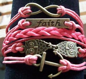 LEATHER CHARM CUFF BRACELETS ~ Limited Number Available
