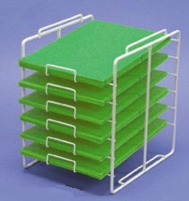 (For Sale Counter Scrapbook Paper Storage Display Rack- 6 Slot 8 1/2