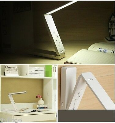 Folding LED Table Portable Lamp mini wireless USB battery desk outdoor camping