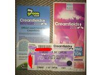 Creamfields 4 days standard camping