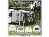 Sunncamp Ultima Air 390 + 2 bedroom Annexes 2014