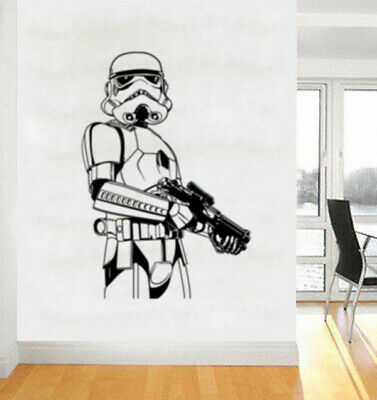 Star Wars Empire Stormtrooper Wall Art Sticker/Decal 1