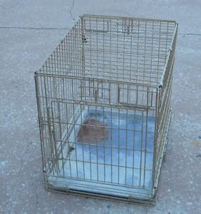 Small Dog Crate - VERY SOLIDLY BUILT - STILL AVAILABLE