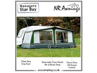 NR awning size 15 and xl breathable groundsheet