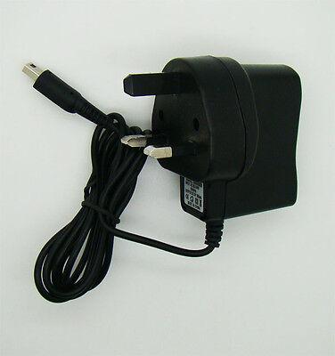 UK Plug Nintendo 3DS Charger AC Adapter 3DS XL, DSi XL &...