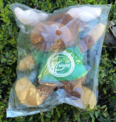 Nip Hertz Rental Car Co   Advertising Green Collection Moose Plush Collector Toy