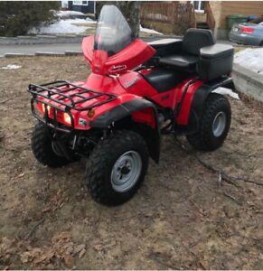 Honda fourtrax 300 2x4
