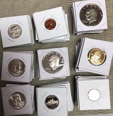 15 Uncirculated US Coins—>Includes Silver, Dollars To Pennies,Old To Modern