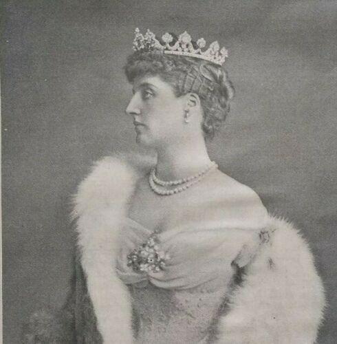 1905 British Royalty Vtg Magazine Photo MARCHIONESS OF LONDONDERRY Edith Stewart