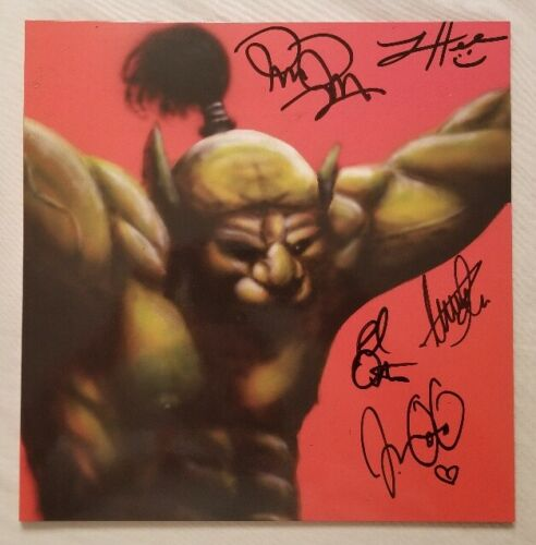 The Oh Sees Autographed Face Stabber Vinyl LP
