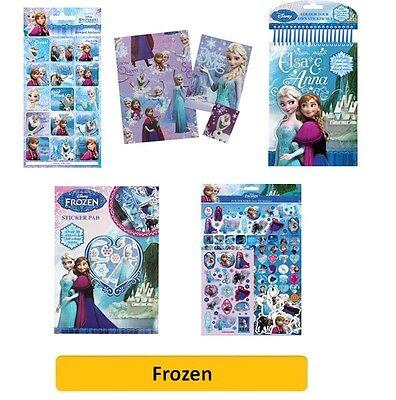 Disney Frozen -Färbung Aufkleber Bücher Polster Blätter Kinder Party Weihnachten
