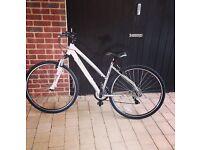 "Carrera Crossfire 1 Womens Hybrid Bike 2015 - 18"""