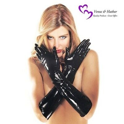- Latex Gloves Sharon Sloane Latex Gauntlets Sexy Latex Rubber Gloves S-M-L