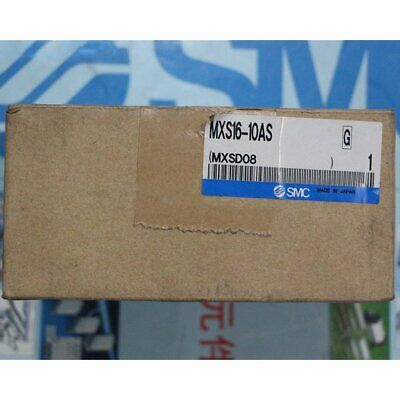 1pc New Smc Mxs16-10as Precision Slide In Box Spot Stock
