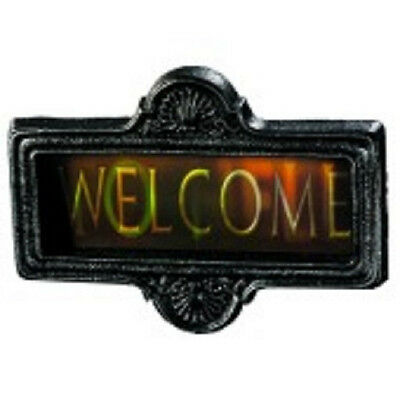 Welcome to Hell Changing Gortrait Sign Haunted House Halloween Party Decoration - Welcome To Halloween Party