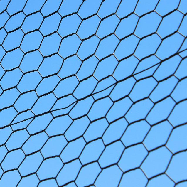 4ft x 150ft Deer Dog Steel Hex Metal Fencing Vinyl Coated Animal Garden Fence