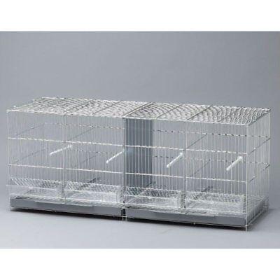 Jaula para Pájaros de cría de 1 metro Canarios Jilgueros, Periquitos, 100x34.5x4
