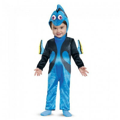 Baby Girls' Finding Nemo Dory Infant Costume | Disguise 10011](Nemo Infant Costume)