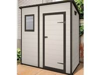 Keter Manor Pent 6x4 Plastic Shed