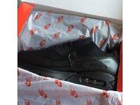 New All Black Air Max 90 Essentials UK Size 6-11