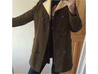 Brown sheepskin coat VINTAGE for sale