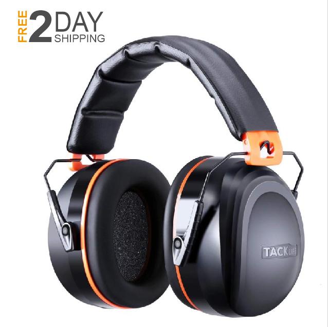 34dB Ear Muff Shooting Range Noise Cancelling Earmuffs Ear H