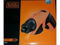 Black and decker electric screwdriver