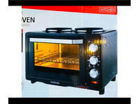 New boxed goodmans multioven with hot plates