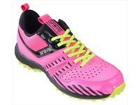 Grays G500 Junior Hockey Shoes Pink/Lime
