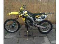 ** Suzuki 2012 RM-Z250 Motorcross Bike **