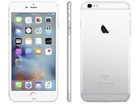 iPHONE 6S 64GB, UNLOCKED, SHOP RECEIPT & WARRANTY, SILVER, MINT CONDITION