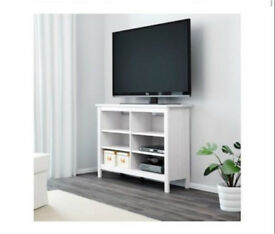 White TV Unit from Ikea