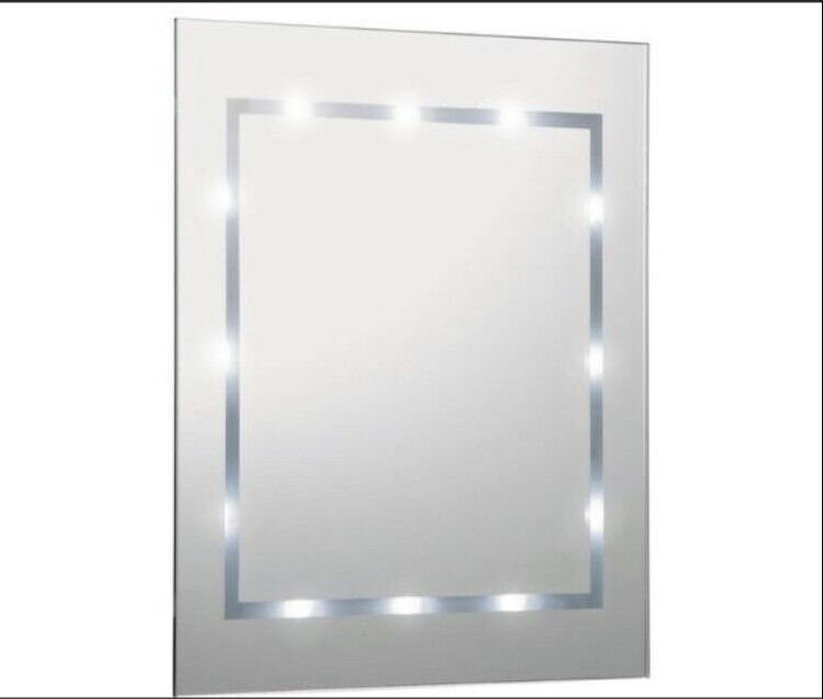 Mirror bathroom led lights