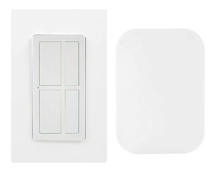 GE mySelectSmart Dimmable Wireless Remote Control Light Switch 37781 T17
