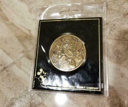 Walt Disney World Villain Lion King Scar Aladdin Jafar Chernabog Coin Medallion