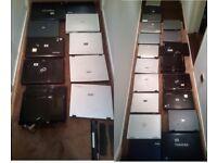 spare laptops all HP DELL ACER TOSHIBA FUJITSU £10 each