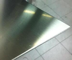Lastra lamiera lamina acciaio inox aisi 304 satinato mm 1 for Peso lamiera acciaio inox aisi 304