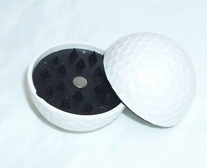 NEW-ACTUAL-GOLF-BALL-SIZE-HERB-GRINDER-SMOKING-POT-NOVELTY-ITEM
