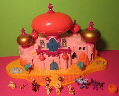 Polly Pocket Mini Disney ♥Aladdin Palast♥ Jasmine's Royal Palace ♥ 100% Complete