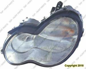 Head Light Driver Side Without Bulb/Ballasu Xenon Type Sedan/Wagon High Quality Mercedes C-Class 2002-2007