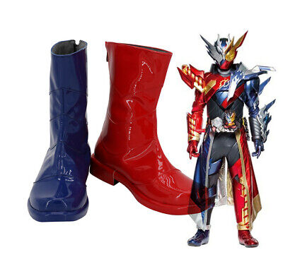 Masked Kamen Rider CROSS-Z BUILD Cosplay Kostüm Costume Schuhe Shoe Stiefel - Kamen Rider Kostüm