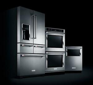 FRENCH DOORS STAINLESS STEEL FRIDGES FREE DELIVERY UNTIL TUESDAY COME TODAY