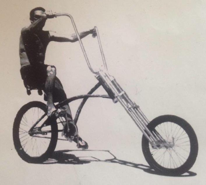SHOWTIME CHOPPER BIKE & PARTS BY PHAT WITH BIKE STAND | in Hackney ...