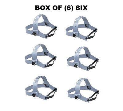 6 Fibre-metal Custom-fit Welding Helmet Replacement Headgears For 1cp 280-1cp