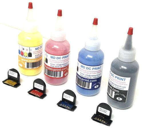 High Quality & Yield Dell 3110CN, 3115CN, 3110, 3115 Toner Refill Kit 130g CYMK