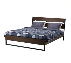 IKEA FULL size bed! Used for only a year. Comes with mattress