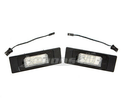 BMW #2 License Number Plate Light 18 LED Lamps Replace OEM Assembly Part