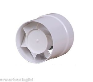 Ducting extractor fan pipe size 100mm 4 air flow bathroom ventilator - Conduit hotte aspirante ...