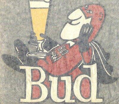 BUDMAN vintage 70s iron on t shirt transfer